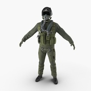 US Military Jet Fighter Pilot Uniform
