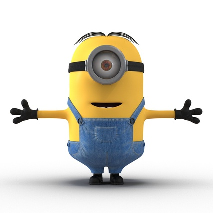 Minions Collection. Render 31