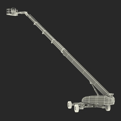 Telescopic Boom Lift Generic 4 Pose 2. Render 72