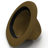 Fedora Hat Brown. Preview 18