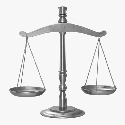 law scales 3d model