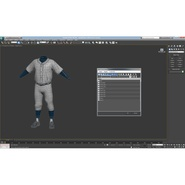 Baseball Player Outfit Generic 8. Preview 34