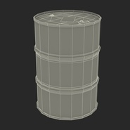Oil Barrel Shell. Preview 4