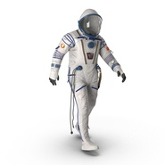 Russian Space Suit Sokol KV2 Rigged. Preview 4