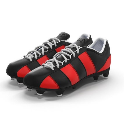 Football Boots Collection. Render 2