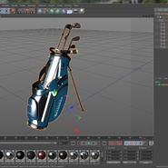 Golf Bag Seahawks with Clubs. Preview 23