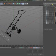 Rolling Snow Shovel. Preview 21