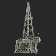 Fracking Gas Platform. Preview 46