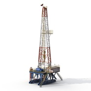 Fracking Gas Platform. Preview 8