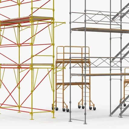 Scaffolding Collection 2. Render 14