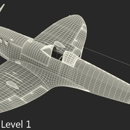 Royal Air Force Fighter Supermarine Spitfire LF Mk IX Rigged. Preview 22