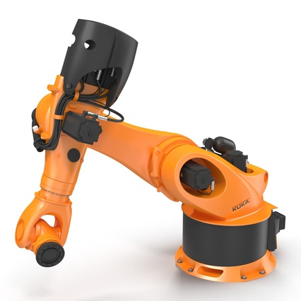 Kuka Robots Collection 5. Render 30