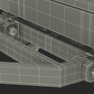 Airport Transport Trailer Low Bed Platform Rigged. Preview 29