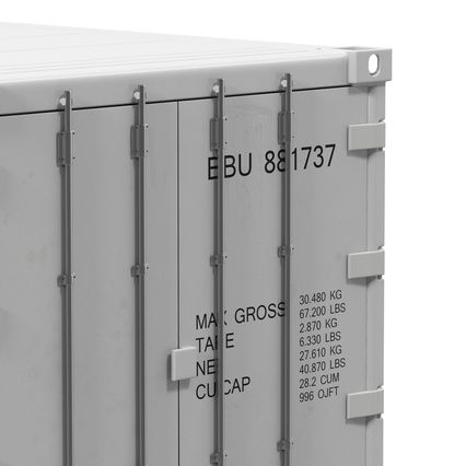 ISO Refrigerated Container. Render 19