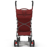 Baby Stroller Red. Preview 6