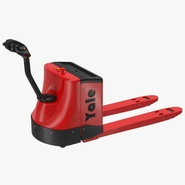 Powered Pallet Jack Red