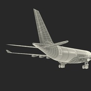 Jet Airliner Airbus A330-200 Qatar. Preview 60