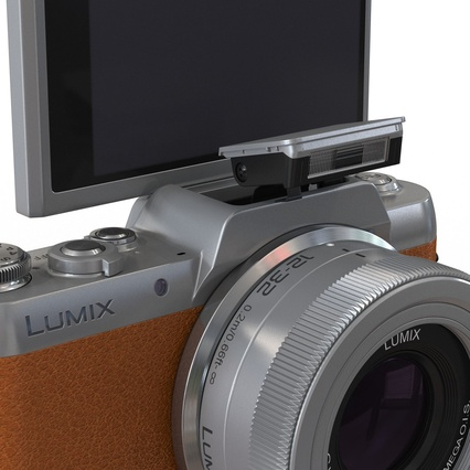 Panasonic DMC GF7 Brown. Render 14