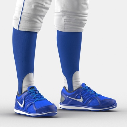 Baseball Player Outfit Mets 2. Render 33