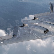 Stealth Bomber B-2 Spirit Rigged. Preview 7