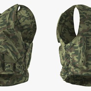Military Camouflage Vest. Preview 7