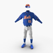 Baseball Player Outfit Mets 2. Preview 2