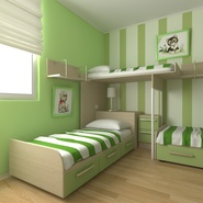 Childrens Bedroom. Preview 1