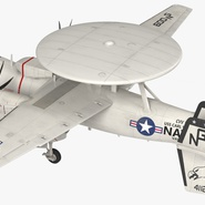 Grumman E-2 Hawkeye Tactical Early Warning Aircraft Rigged. Preview 11