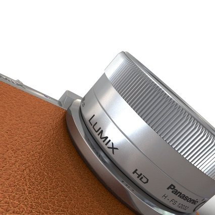 Panasonic DMC GF7 Brown. Render 41