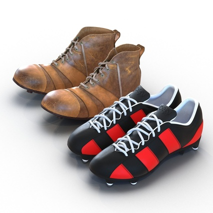 Football Boots Collection. Render 6