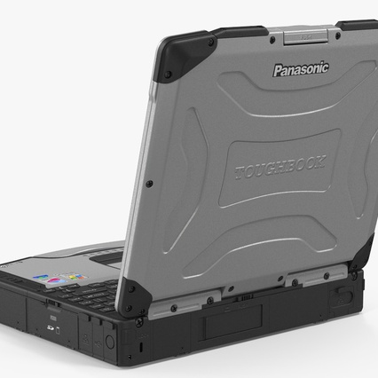 Panasonic Toughbook. Render 6