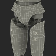 Male Crash Test Dummy Rigged for Cinema 4D. Preview 54