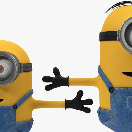 Minions Collection. Render 10