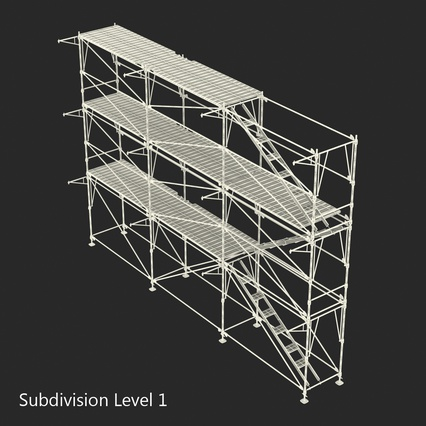 Scaffolding Collection 2. Render 46