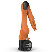 Kuka Robot KR 10 R1100 Rigged. Preview 12