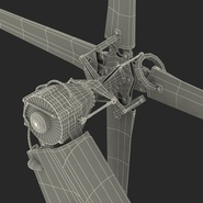 Attack Helicopter Bell AH 1Z Viper Rigged. Preview 117
