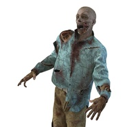 Zombie Rigged for Cinema 4D. Preview 44