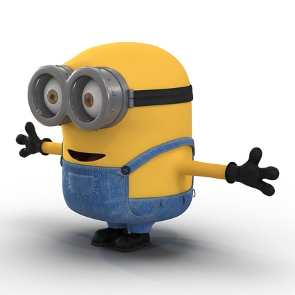 Minions Collection. Render 12