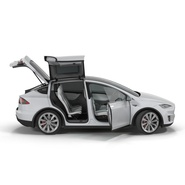 Tesla Model X Rigged. Preview 16