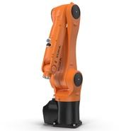 Kuka Robot KR 10 R1100 Rigged. Preview 11