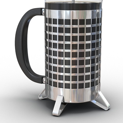 French Press. Render 23