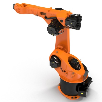 Kuka Robot KR 30-3 Rigged for C4D. Render 14