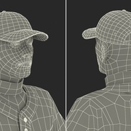 Baseball Player Rigged Athletics for Cinema 4D. Preview 27