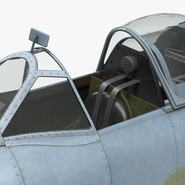 Royal Air Force Fighter Supermarine Spitfire LF Mk IX Rigged. Preview 18