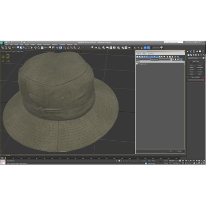 Fishing Hat. Render 22