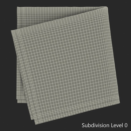 Napkins Collection. Render 33