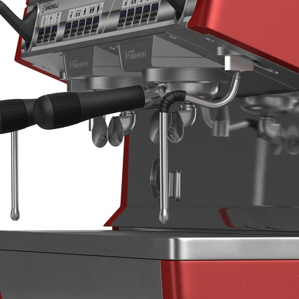 Espresso Machine Simonelli. Render 19