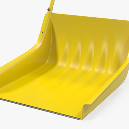 Snow Scoop Shovel. Render 8