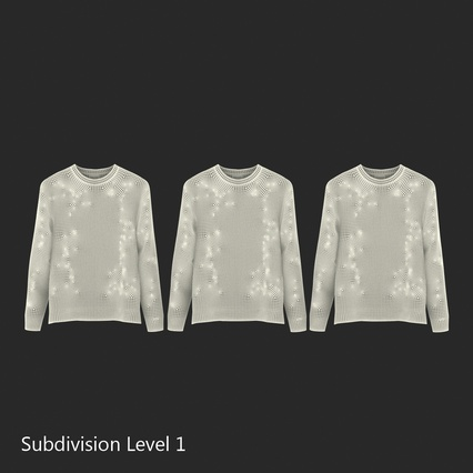 Sweaters Collection. Render 42