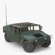 Humvee Rigged